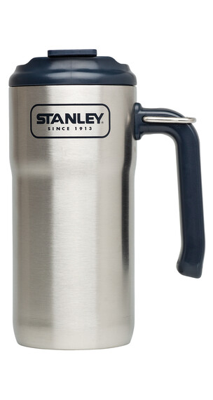 Stanley Adventure Steel Travel Drikkeflaske 473ml sort/sølv